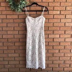 Urban Outfitters Lace Midi Dress